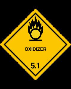 Gefahrgutaufkleber Klasse 5.1 OXIDIZER