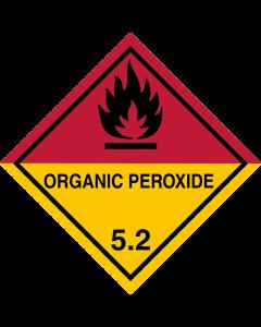 Gefahrgutaufkleber Klasse 5.2 ORGANIC PEROXIDE