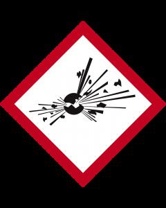 GHS Symbol 01 – Explodierende Bombe