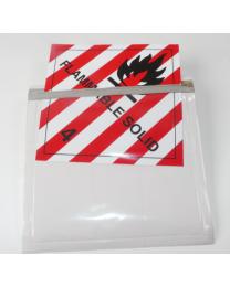 Labelhalter flexibel für Gefahrzettel