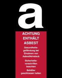 Abfertigungskennzeichen Asbest