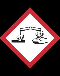 GHS Symbol 05 – Ätzwirkung