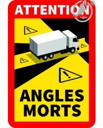 magnetisch Toter Winkel-Aufkleber LKW mehr als 3,5 Tonnnen