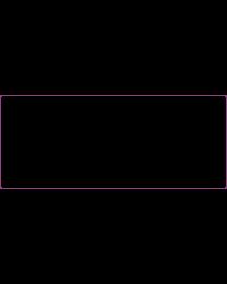Umverpackung/Overpack 60 x 145 mm, 1000 Stück Rollenetikett