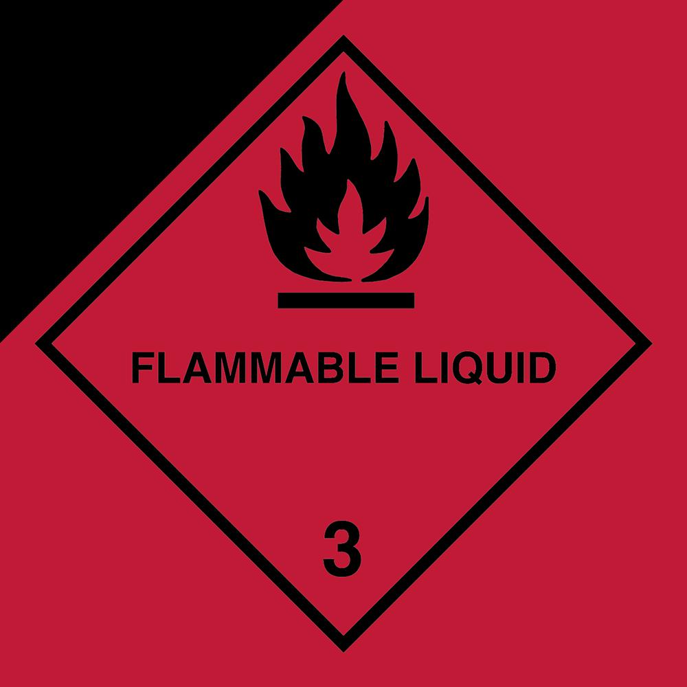 Ein Placard ist für die Kennzeichnung von Gefahrgut zuständig