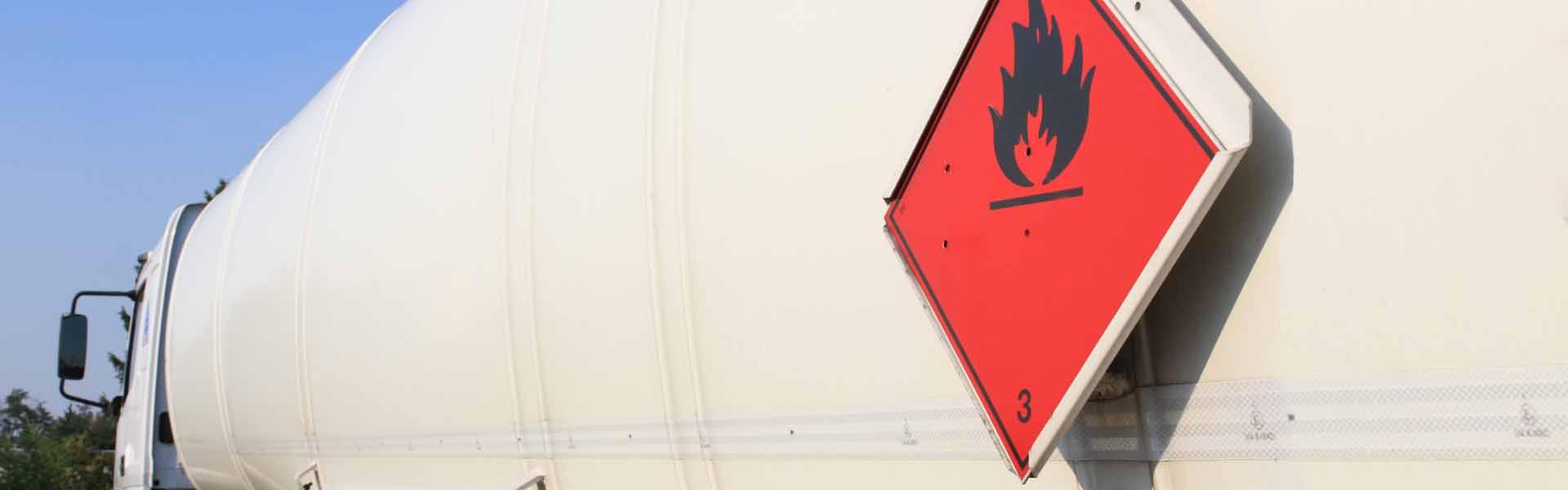 Kennzeichen für Gefahrgut - Gestaltung